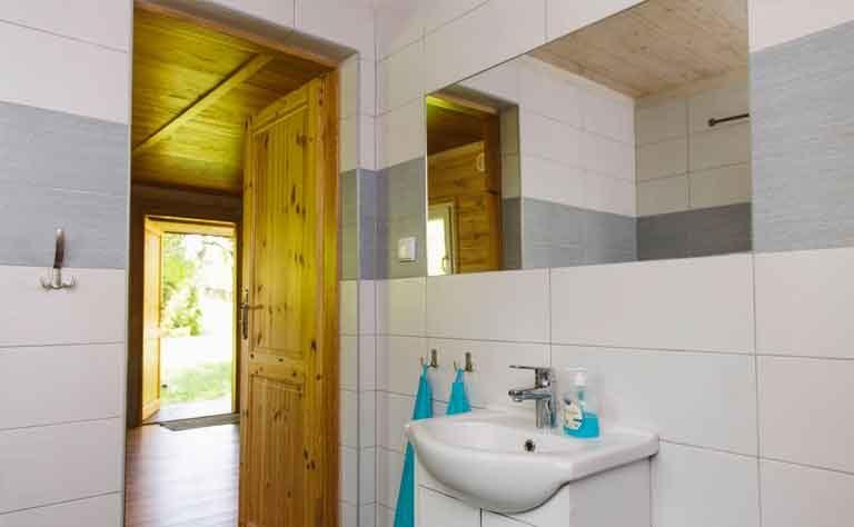 Waschbecken im Badezimmer von Haus C