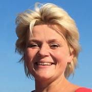 Magda - Managerin der Ferienhaeuser Habenda-Houses am Sarbsko