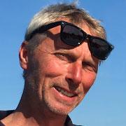 Maciek - Leiter der Surfschule für die Gäste von Habenda-Houses am Sarbsker See