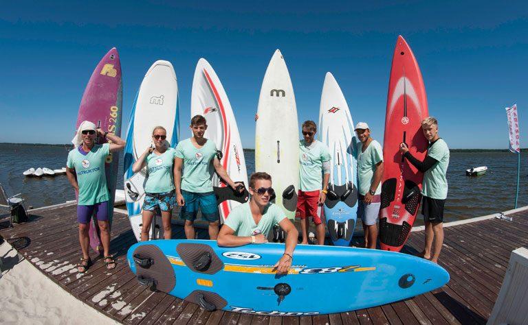 Surfschule im Stehrevier für die ganze Familie