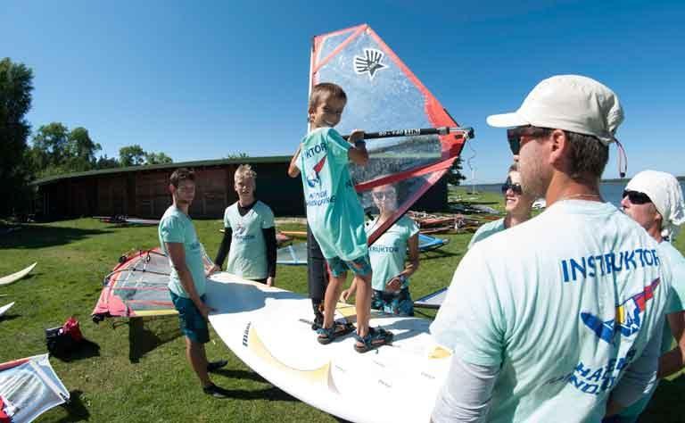 Surfunterricht für Kinder und Jugendliche - in polnisch und englisch, als Einzel- oder Gruppenstunde